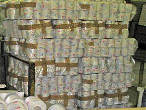 Изготовление рулонов туалетной бумаги и бумажных полотенец
